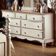 Hillsdale Wilshire Drawer Dresser in Antique White 1172-717
