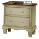 Hillsdale Wilshire 2-Drawer Nightstand in Antique White 1172-771