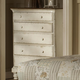 Hillsdale Wilshire 5-Drawer Chest in Antique White 1172-785