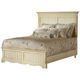 Hillsdale Wilshire King Panel Bed in Antique White