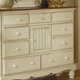 Hillsdale Wilshire Mule Chest in Antique White 1172-787