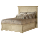 Hillsdale Wilshire Queen Platform Storage Bed in Antique White