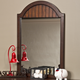 Hillsdale Westfield Youth Mirror in Rich Espresso 1125-722