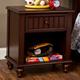 Hillsdale Westfield One Drawer Nightstand in Rich Espresso 1125-772
