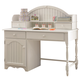 Hillsdale Westfield Youth Writing Desk and Hutch in Off White