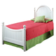 Hillsdale Westfield Youth Full Poster Bed in Off White