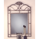 Hillsdale Bordeaux Console Mirror in Bronze Pewter 40543