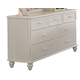 Hillsdale Westfield Youth Drawer Dresser in Off White 1354-716