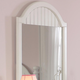Hillsdale Westfield Youth Mirror in Off White 1354-722