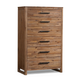 Cresent Fine Furniture Waverly Chest  in Driftwood 5508