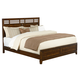 Standard Furniture Avion King Panel Bed in Cherry