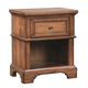Aspenhome Alder Creek One Drawer Nightstand in Butterscotch I09-451N