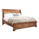 Aspenhome Alder Creek California King Sleigh Bed in Butterscotch