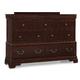 Cresent Fine Furniture Provence Dresser in Antique Tobacco 1701