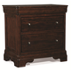 Cresent Fine Furniture Provence Nightstand with Power in Antique Tobacco 1712