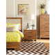 Cresent Fine Furniture Waverly Upholstered Platform Bedroom Set in Driftwood