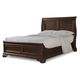 Cresent Fine Furniture Provence Queen Sleigh Bed in Antique Tobacco 1732Q