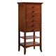 Cresent Fine Furniture Modern Shaker City Chest in Cherry 1309