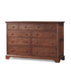 Cresent Fine Furniture Retreat Cherry Dresser in Cherry 1501