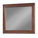 Cresent Fine Furniture Retreat Cherry Landscape Mirror in Cherry 1502