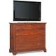 Cresent Fine Furniture Retreat Cherry Small Media Dresser in Cherry 1503