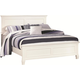 New Classic Tamarack Full Panel Bed in White