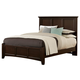 All-American Bonanza King Mansion Bed in Merlot