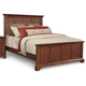 Cresent Fine Furniture Retreat Cherry California King Panel Bed in Cherry 1531C