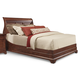 Cresent Fine Furniture Retreat Cherry Queen Sleigh Bed in Cherry 1532Q