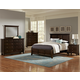 All-American Bonanza Mansion Bedroom Set in Merlot