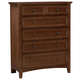 All-American Bonanza 5-Drawer Chest in Cherry