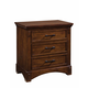 Standard Furniture Artisan Loft Nightstand in Warm Oak Finish 92100-92107