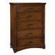Standard Furniture Artisan Loft Drawer Chest in Warm Oak Finish 92100-92105