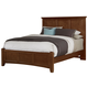 All-American Bonanza Queen Mansion Bed in Cherry