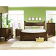 Standard Furniture Artisan Loft Column Bedroom Set in Warm Oak