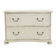 Bernhardt Auberge 2-Drawer Bachelor's Chest in Vintage White 351-229