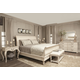Bernhardt Auberge Sleigh Bedroom Set in Vintage White