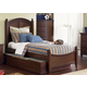 Liberty Furniture Abbott Ridge Youth Twin Panel Bed with Trundle in Cinnamon 277-TTPB