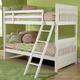 Hillsdale Lauren Youth Bunk Bedroom Set in Crisp White