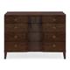 Bernhardt Haven 4-Drawer Small Dresser in Brunette 346-032
