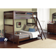 Liberty Furniture Abbott Ridge Youth 4 Piece Bunkbed Bedroom Set  in Cinnamon