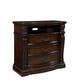 Standard Furniture Churchill Drawer TV Chest in Dark Cherry 86000-86046