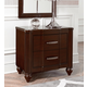 Hillsdale Roma 2-Drawer Nightstand in Rich Cherry 1225-771
