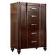 Hillsdale Roma 5-Drawer Chest in Rich Cherry 1225-785