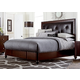 Hillsdale Roma King Panel Bed in Rich Cherry