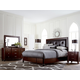 Hillsdale Roma Panel Bedroom Set in Rich Cherry
