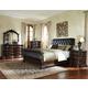 Standard Furniture Churchill Sleigh Bedroom Set in Dark Cherry