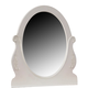 Liberty Furniture Arielle Oval Mirror in Antique White 352-BR50