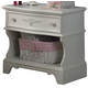Liberty Furniture Arielle Nightstand in Antique White 352-BR60