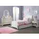Liberty Furniture Arielle 4 Piece Panel Bedroom Set in Antique White